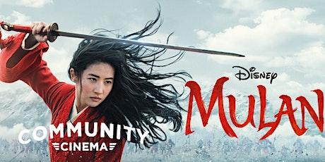 Mulan (2020) - Community Cinema & Amphitheater tickets
