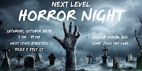 Next Level's Horror Night tickets