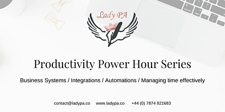 Productivity Power Hour Series tickets