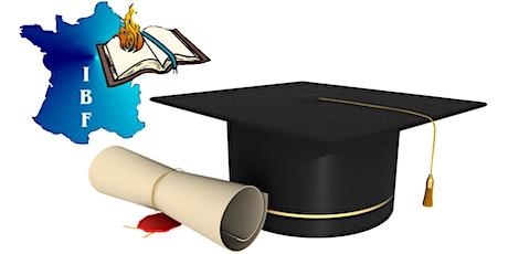 IBF - Remise de diplômes billets