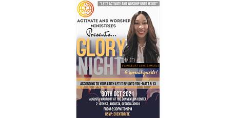 Activate and Worship Ministries Presents: GLORY NIGHT! tickets