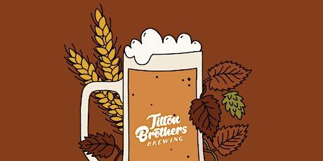 Tilton Brothers Fall Beer Dinner tickets