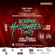 Afropop Halloween Party tickets