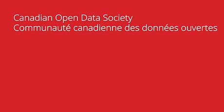 Two Great Sessions / deux grandes sessions from the Open Data Summit... tickets