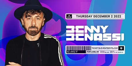 BENNY BENASSI tickets