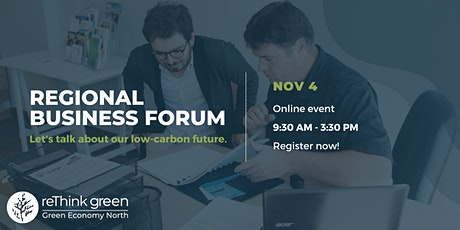 Regional Business Forum 2021 tickets