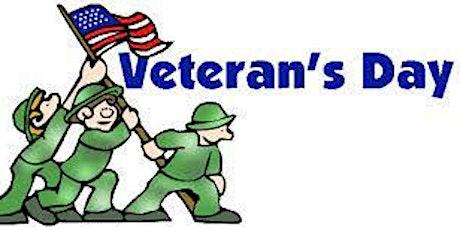 Story Time : Celebrating Veterans tickets