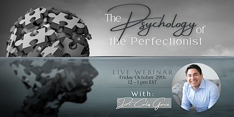 The Psychology of the Perfectionist tickets