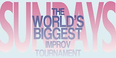 The World's Biggest Improv Tournament 2021-22 tickets