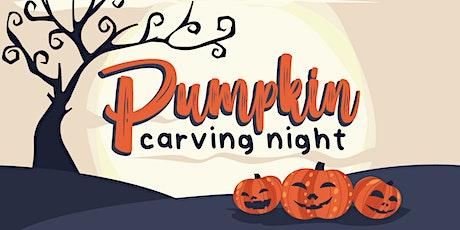 Pumpkin Carving Night tickets