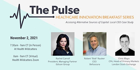 The Pulse Breakfast -  Accessing Alternative Sources of Capital (VIRTUAL) tickets
