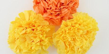 Día de los Muertos Family Craft Days - Paper Marigold Workshop tickets