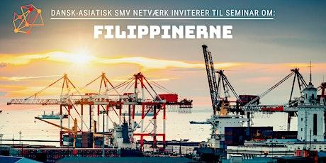 Landeseminar: Filippinerne (Dansk-Asiatisk SMV Netværk) tickets