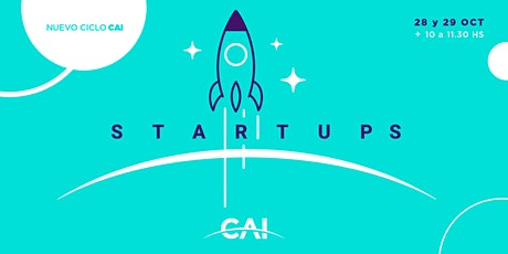 #CiclosCAI Startups entradas