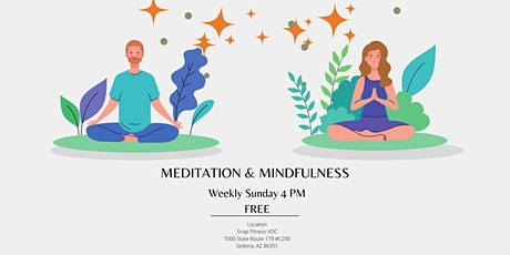 Weekly Meditation and Mindfulness Class tickets