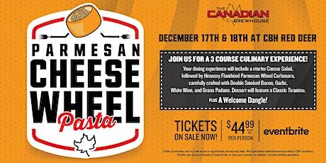 Cheese Wheel Pasta Night (Red Deer) - Friday tickets