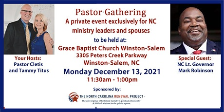 Pastor Gathering NC-Winston-Salem tickets