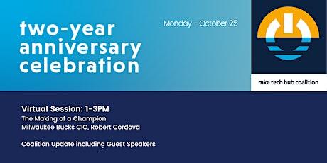 MKE Tech Hub Coalition: Two-Year Anniversary Celebration Virtual Event tickets