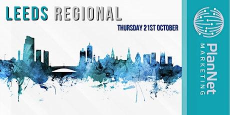 PlanNet Marketing Leeds Regional tickets