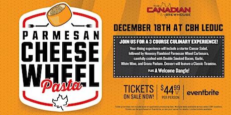 Cheese Wheel Pasta Night (Leduc) tickets
