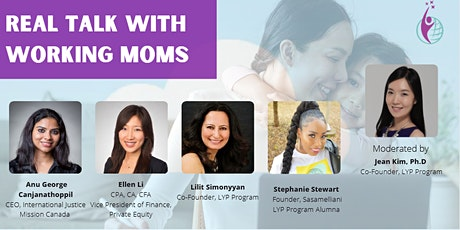 Virtual LYP Talk Series: Real Talk with Working Moms tickets