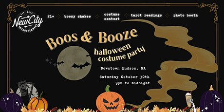 Boos & Booze: Halloween Costume Party tickets