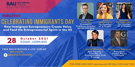 Celebrating National Immigrants Day tickets