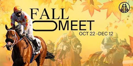 Live Horse Racing // Fall Meet 10-30-21 tickets
