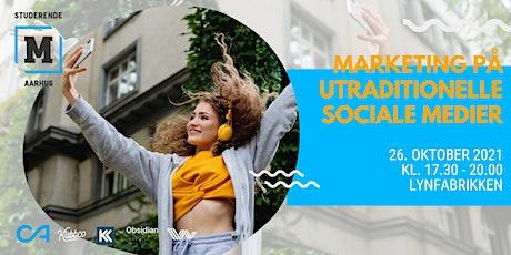 Marketing på utraditionelle sociale medier tickets
