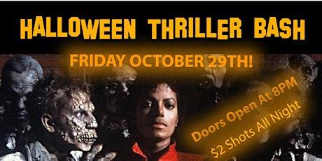 Halloween Thriller Bash tickets