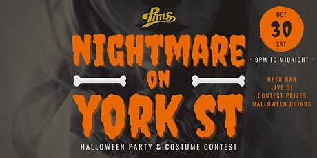 Nightmare on York Street - Halloween Party & Costume Contest @ Pints tickets