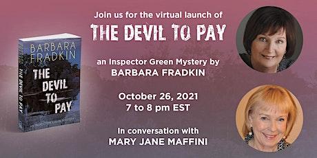 Barbara Fradkin's Virtual Book Launch billets