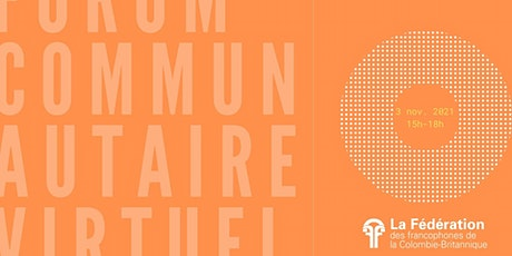 Forum communautaire billets