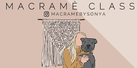 Macramè Plant-Hanger Workshop tickets