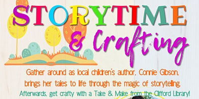 Storytime & Crafting with Connie Gibson