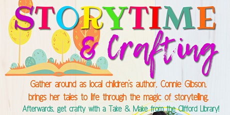Storytime & Crafting with Connie Gibson tickets