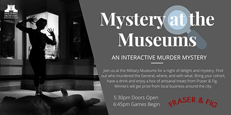 Mystery at the Museums tickets