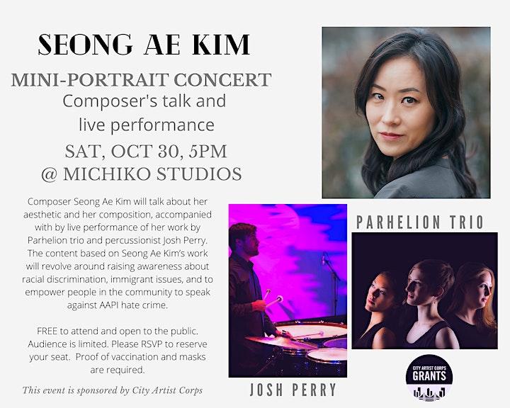 ::Seong Ae Kim:: Composer's talk and performance image