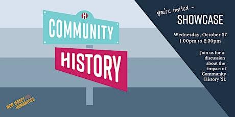Community History Showcase tickets