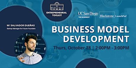 Business Model Development tickets