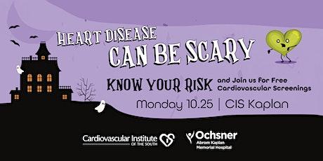 CIS & Ochsner Abrom Kaplan Memorial Hospital: Free Heart Screening tickets