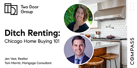 Ditch Renting - Chicago Home Buying 101 Free Seminar with Jen & Tom tickets