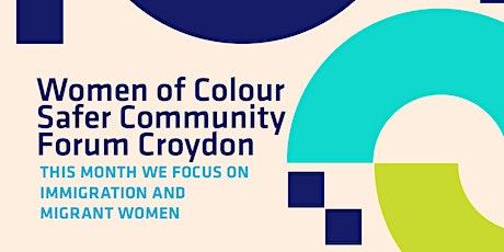 Women of Colour Safer Community Forum Croydon tickets
