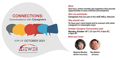 Connections: Conversations with Caregivers tickets