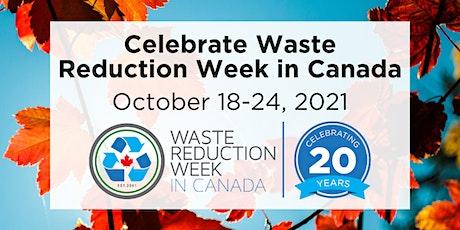 Waste Reduction Week - Worm Composting Webinar tickets