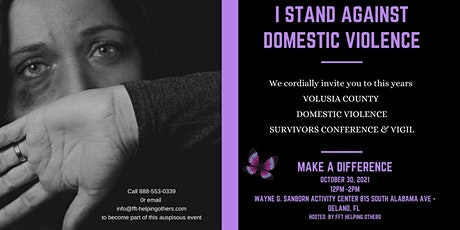 """""""I stand against Domestic Violence"""" Domestic Violence Awareness Month tickets"""