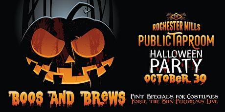 Boos & Brews Mills Taproom Halloween Party October 30 tickets
