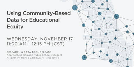 Using Community-Based Data for Educational Equity tickets