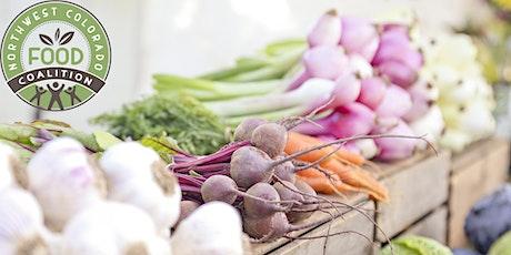 Northwest Colorado Food Coalition Regional Food System Convening tickets