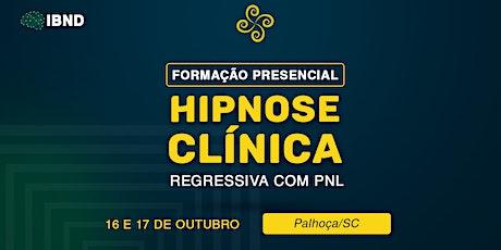 Formação em Hipnose - Palhoça - Santa Catarina ingressos